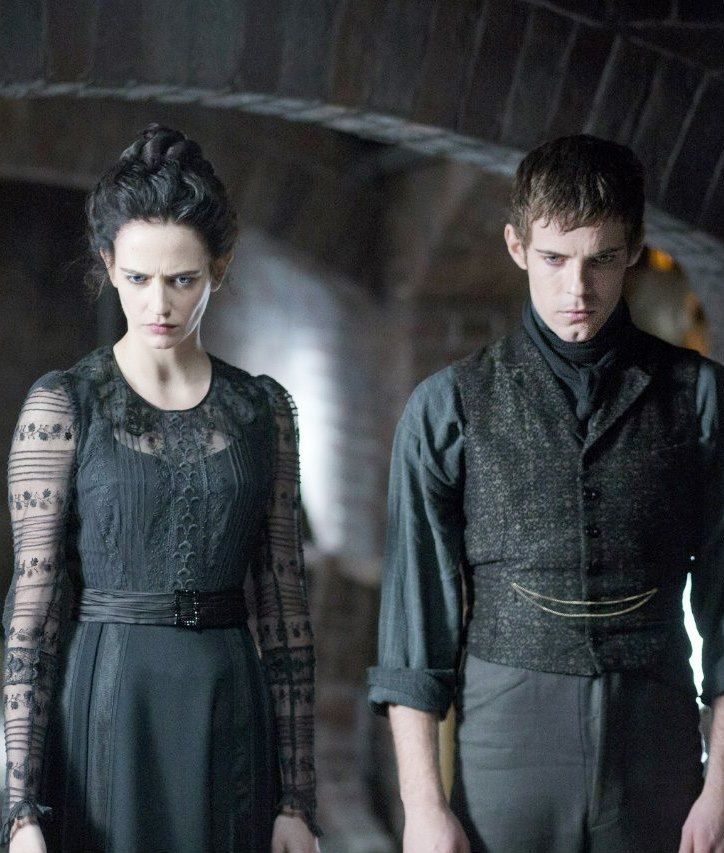 Eva Green with Harry Treadaway | 'Penny Dreadful'