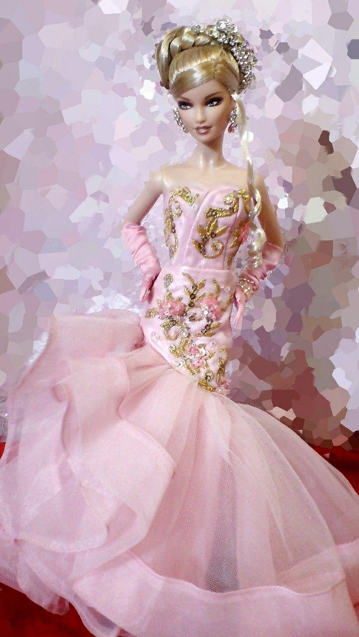 12 best Wedding Dresses for Dolls images on Pinterest | Barbie dolls ...