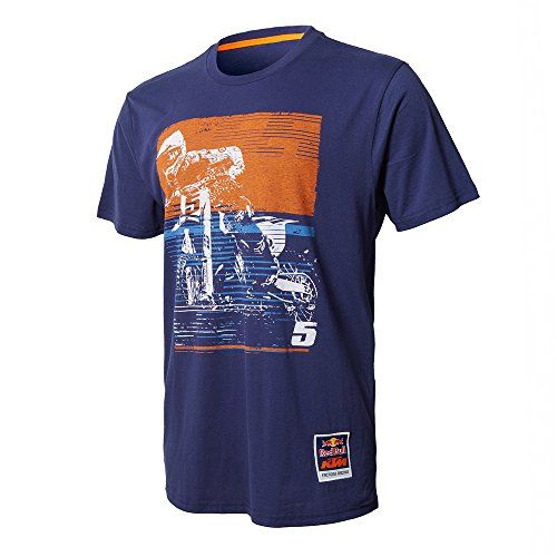 Red Bull KTM Factory Racing Dungey Signature Tee Navy Blue Medium:   The 2017 Red Bull KTM Factory Racing collection is here! Show your team spirit with this limited edition Dungey Signature Tee.