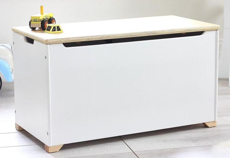 Large Benji Storage Toy Box by HipKids | Personalised Wooden Toy Box