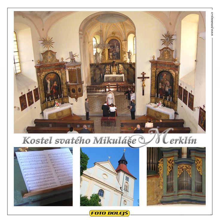 Kostel svatého Mikuláše, Merklín. (Plzeň-jih)