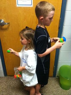 Following Directions and communication activity (Small Groups)