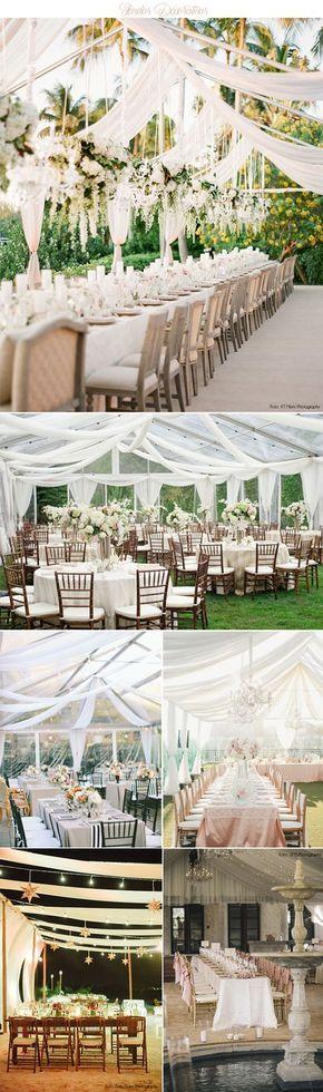 Tendas que além de proteger, são o forte da decoração | Mariée: Inspiração para Noivas e Casamentos