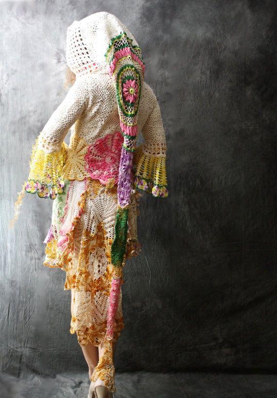 Crochet Flower Fairy Fantasy Sweater Dress Hoodie Jacket Tuxedo Style ...570 x 817153.7KBpinterest.com