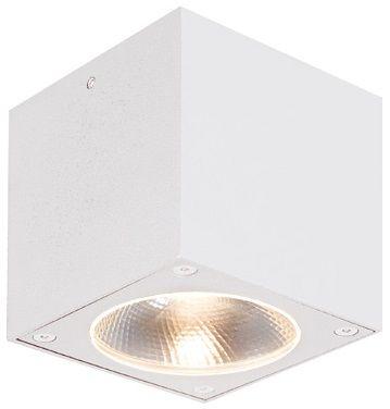 Liten og enkel taklampe for utendørs bruk. Lampen er formet som en kube, og har et rent utseende. Leveres med integrert LED-lyskilde på 7W som gir 366 lumen.