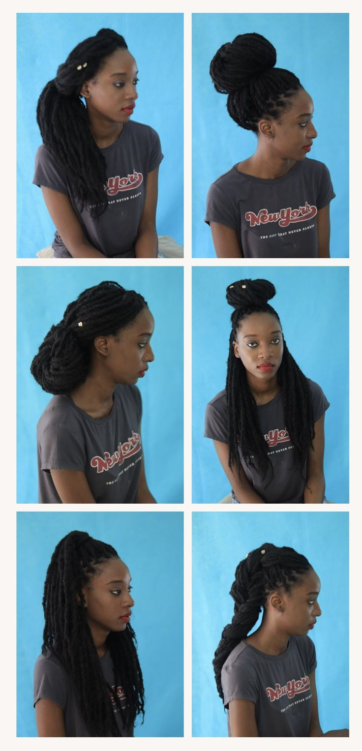 marley twists hairstyles for natural hair | protective