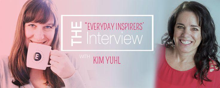 Everyday Inspirer [Kim Yuhl] So good to have you on the blog @kimyuhl