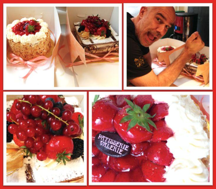 Happy Birthday #designer Doug! Yummy Patisserie Valerie Summer Fruits cakes!