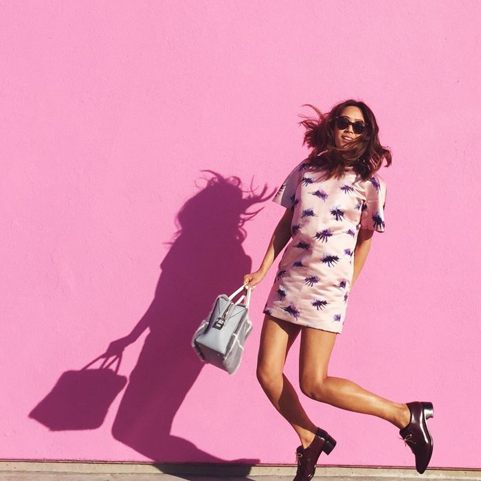 What: Pink wall Where: Paul Smith, 8221 Melrose Ave. (at N. Harper Avenue), West Hollywood