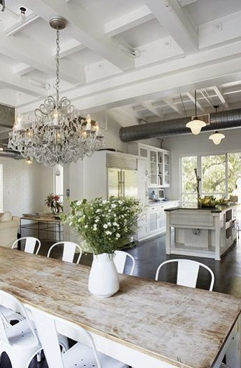 Rustic Dining Room Idea 6                                                                                                                                                                                 More