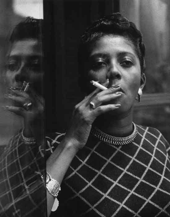 Fumatrice di Harlem, Mario De Biasi