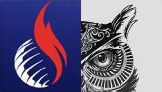 IRLA (International Religious Liberty Association, SDA) logo and and the eye of an owl.