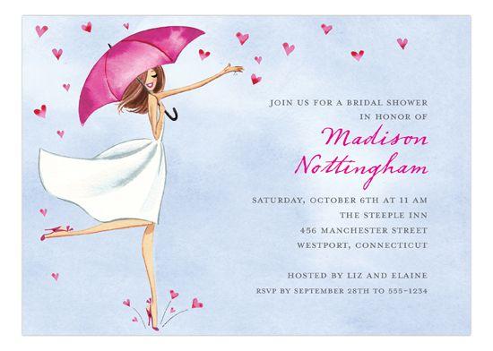 #Bridal Love Reigns Invitation