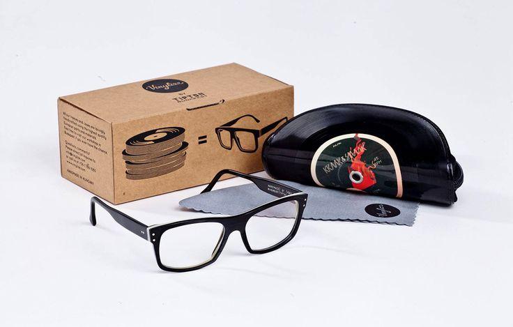 Vinylize – coole Brillen aus alten Schallplatten – Brillen Trends & Themen