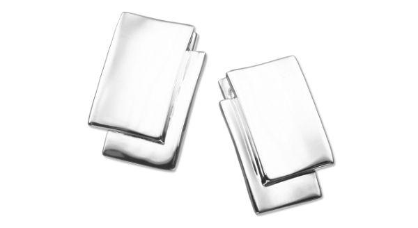 Totemi Earrings, sterling silver