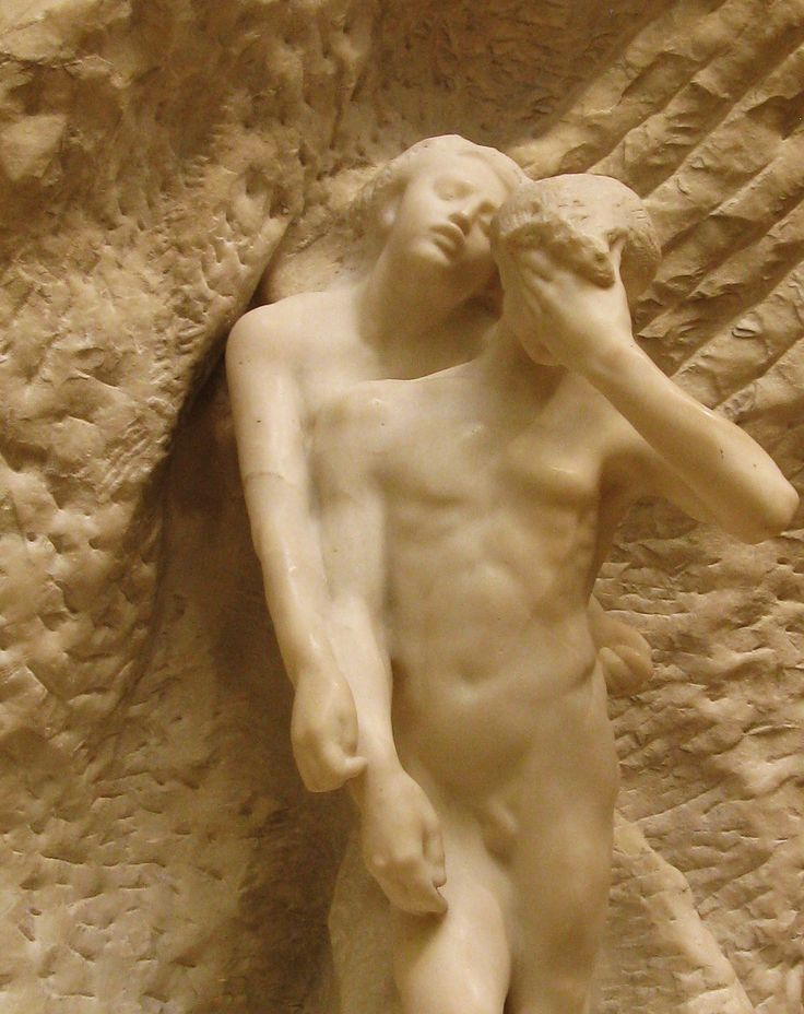 """Orpheus and Eurydice, Auguste Rodin., """