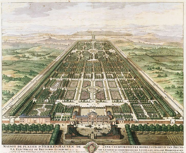 Fancy Schloss Herrenhausen Maison de Plaisir d Herrenhausen For which the five original George II King of England u King of Hannover Germany Silver Hannover