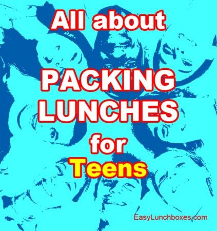 EasyLunchboxes makes it easy to pack lunches for teens