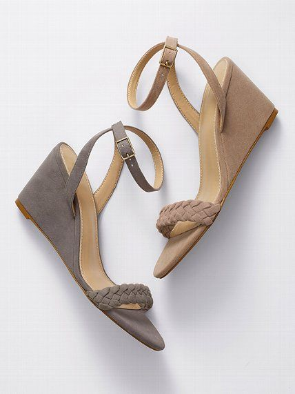 VS Collection Braided Mid-wedge Sandal #VictoriasSecret