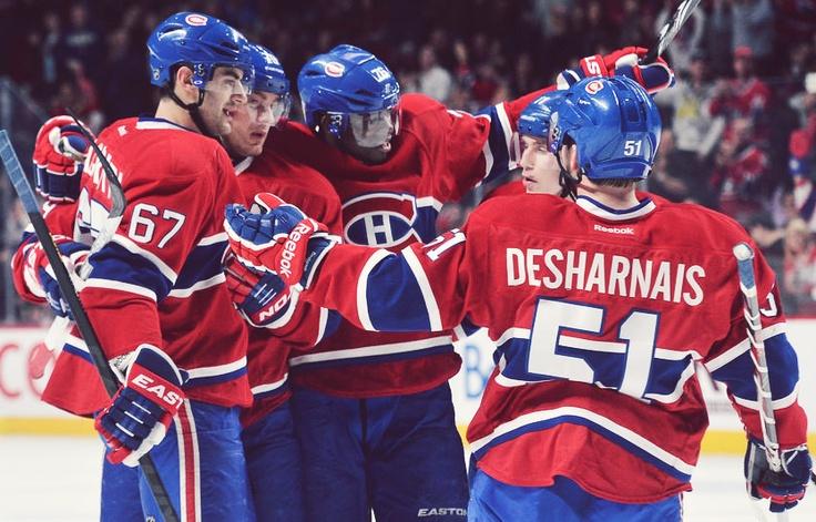Montreal Canadiens: Max Pacioretty, P. K. Subban, Andrei Markov, Brendan Gallagher, David Desharnais