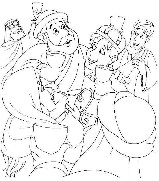 the lost son parable puzzles, coloring pages | parable of prodigal ...