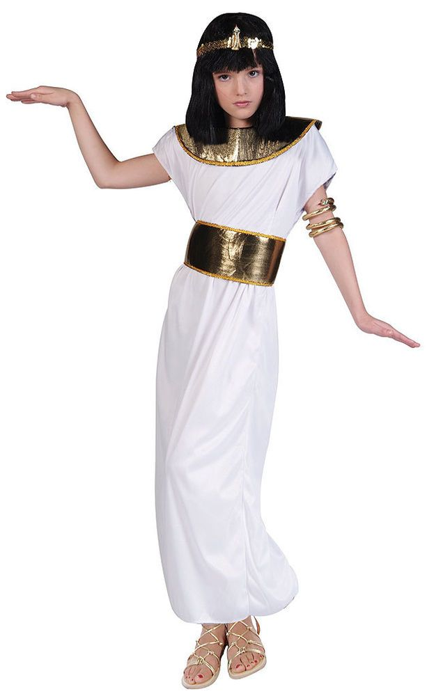 egyptian cleopatra kids costume rgcostumes - Egyptian Halloween Costumes For Kids