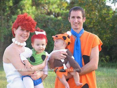 Flintstones Costume. Cute!