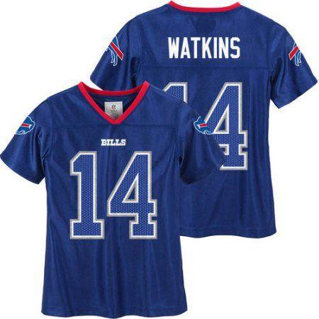 NFL Buffalo Bills Girls Sammy Watkins Jersey, Size: Large, Blue