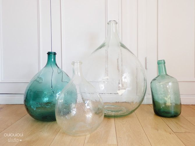 34 best Dame Jeanne images on Pinterest | Vases, Bottle and Vintage ...