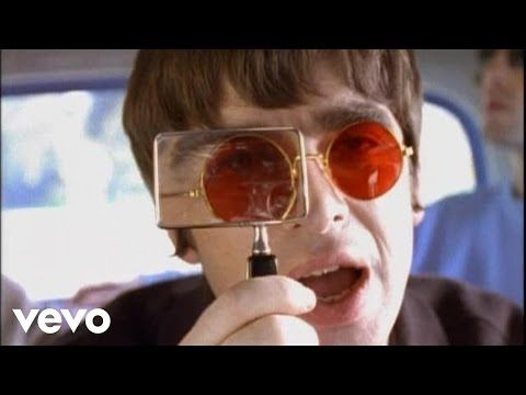 """Oasis - Don't Look Back In Anger  """"Please don't put your life in the hands of a rock and roll band who'll throw it all away"""""""