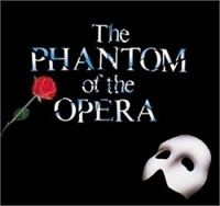 Phantom of the Opera Theater Show ~ Saw the best musical performance I have ever seen in my life at my high school's theater production of Phantom!  It was incredible!  Love the music from Andrew Lloyd-Webber!