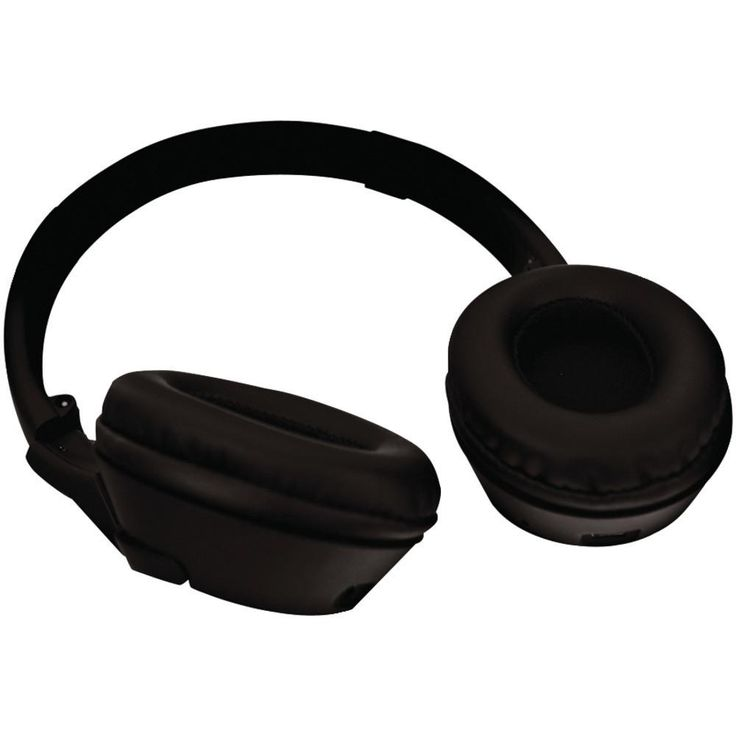 ECKO UNLIMITED EKU-LNK2-BK Bluetooth(R) Link2 Over-Ear Headphones with Microphone (Black)