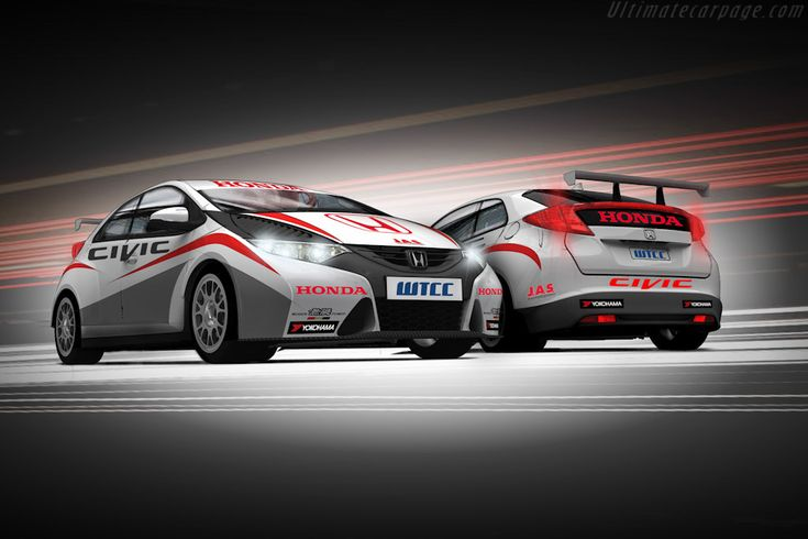 2012 Honda Civic WTCC: 8-shot gallery, full history and specifications