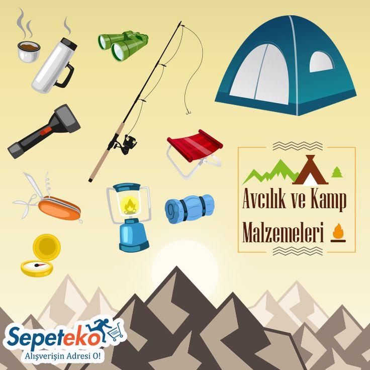 Avcılık ve Kamp Malzemeleri Sepeteko' da... Ürünleri İncele >> http://www.sepeteko.com/spor-outdoor/avcilik-kamp