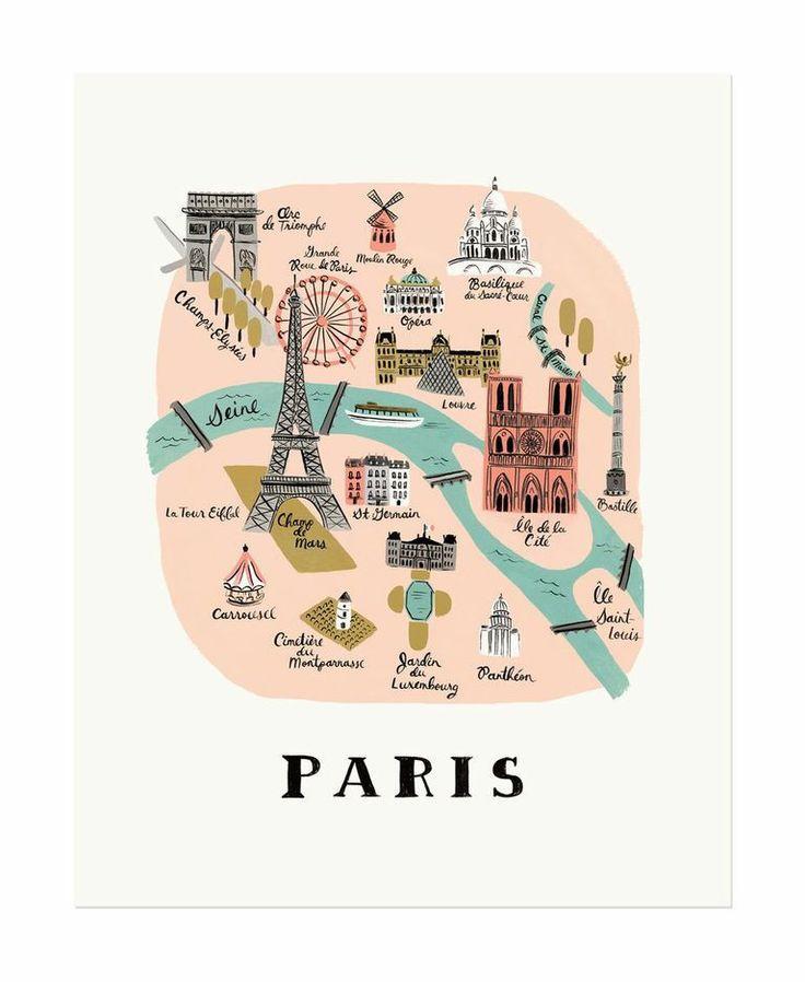 Rifle Paper Co Paris print