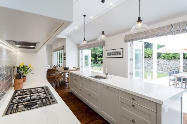 Shane George of Kitchens By Design designed this new kitchen in a traditional Mt Eden villa to complement the era of the ...