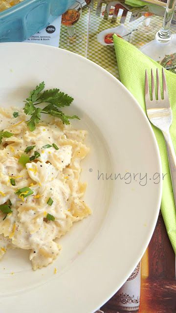 Kitchen Stories: Farfalle with Smoked Trout  &  Bechamel Sauce