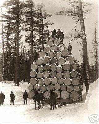 Old time Logging