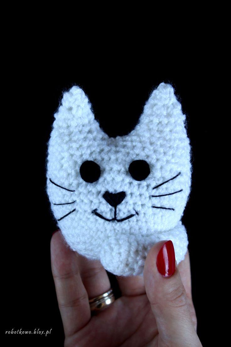 Mały kotek na szydełku (crochet)