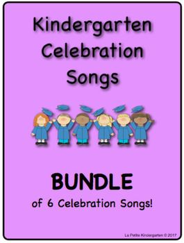 Are you looking for something new and different for your Kindergarten Celebration?Here is a BUNDLE of all 6 Kindergarten Celebration songs!Each song can be purchased separately in my store or save and buy the Bundle!The 6 songs are:Do My Best sung to the tune of Shake it Off by Taylor SwiftDo You Wanna Know a Secret?
