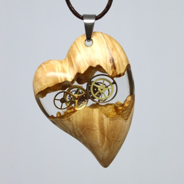 wood resin jewelry, design, necklace wooden pendan…