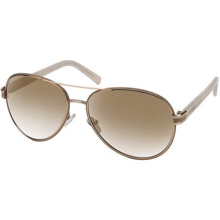 Buy Flower Womens Prescription Sunglasses, Casey Gold Ivory at Walmart.com