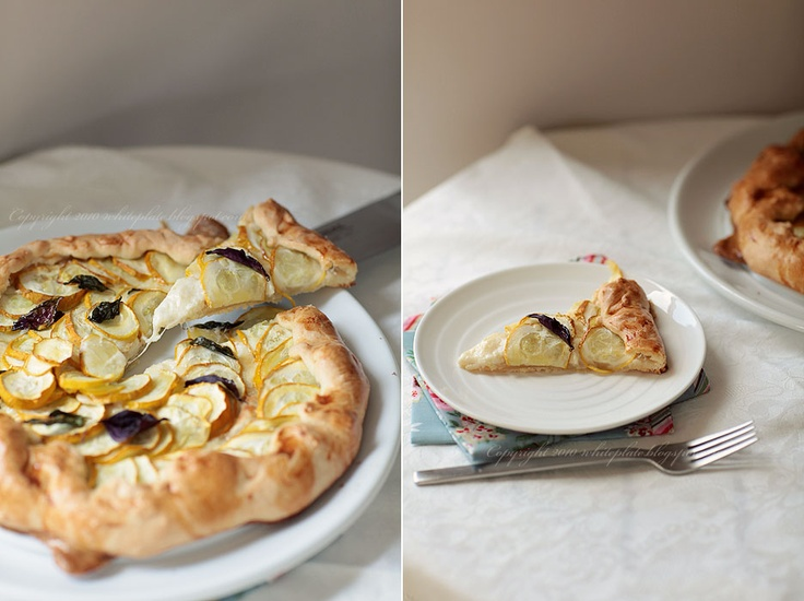 Zucchini and Ricotta Galette | Tried and Trusted Recipes | Pinterest