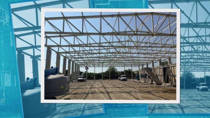 Hale metalice, Constructii industriale si agricole