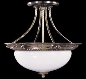 Napoleonic I Collection 19.5″ Dia Traditional Semi-Flush Ceiling Light
