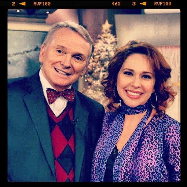 @bobmackie with @QVC host Sharon Faetsch