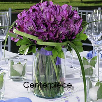 FiftyFlowers.com - Alluring Peruvian Lily Wedding Flowers Box - 3 Table