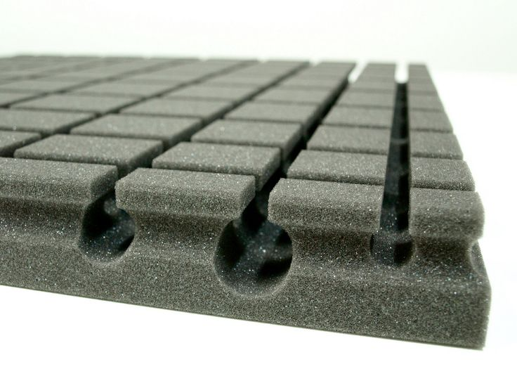 EliAcoustic Radar include special resonant chabers to maximize acoustic absorption.  http://eliacoustic.com/products/radar-first/