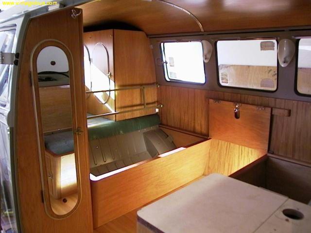 VW Bus Camper Interior progress