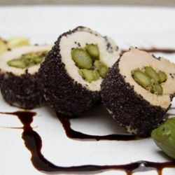 Sushi di pollo #chicken #sushi #creativefood #foodideas #cooking